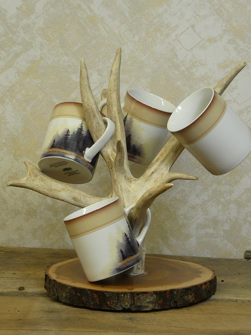 Antler Coffee Mug Holder