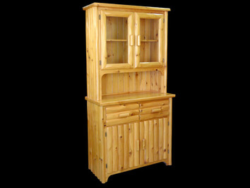 White Cedar 2 Door Hutch