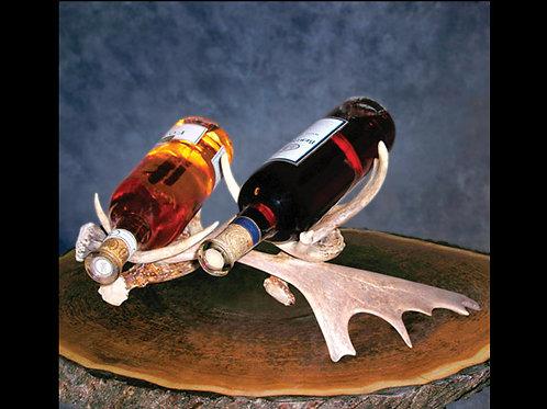 Antler Double Wine Bottle Holder