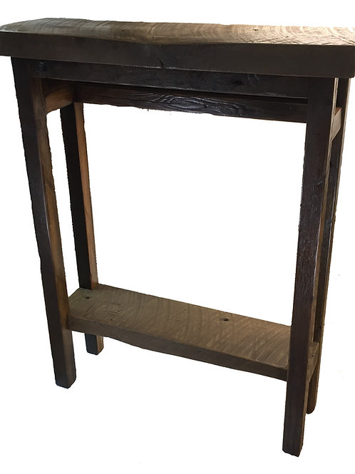 Reclaimed Barnwood Accent Table