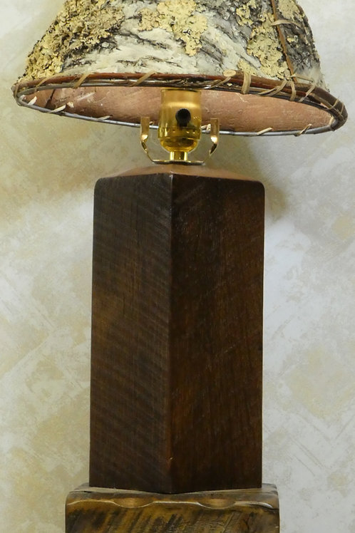 Barnwood Table Lamp