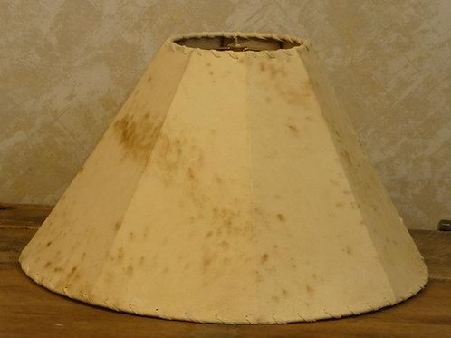 """Sheepskin Leather Lamp Shade 18x13"""""""