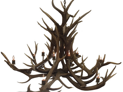 Seven Foot Elk Antler Chandelier