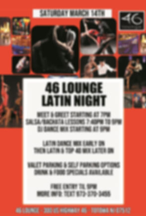 46 lOUNGE LATIN MARCH 2020 WEBSITE UPDAT