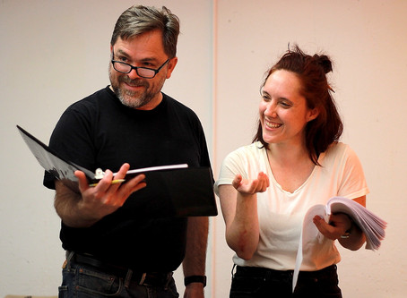 """Photo Call: Rehearsals for """"The Mollusc"""" at Quotidian Theatre Company"""