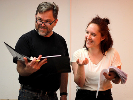 "Photo Call: Rehearsals for ""The Mollusc"" at Quotidian Theatre Company"