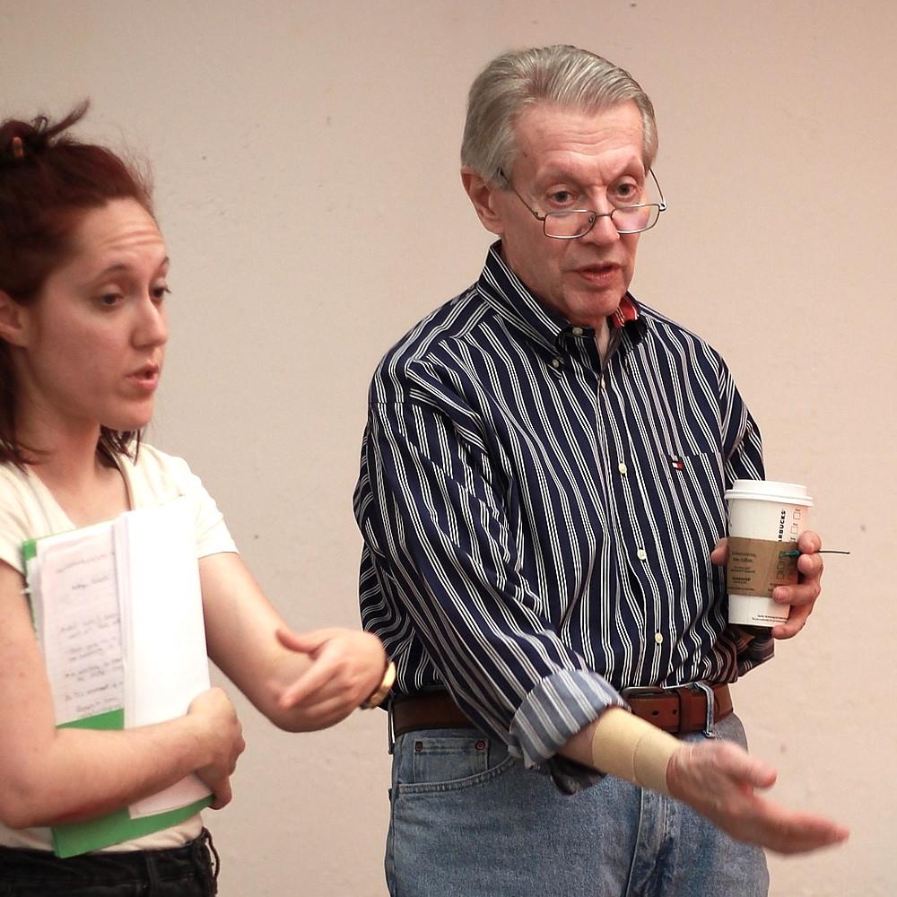 Emily H. Gilson and director Jack Sbarbori