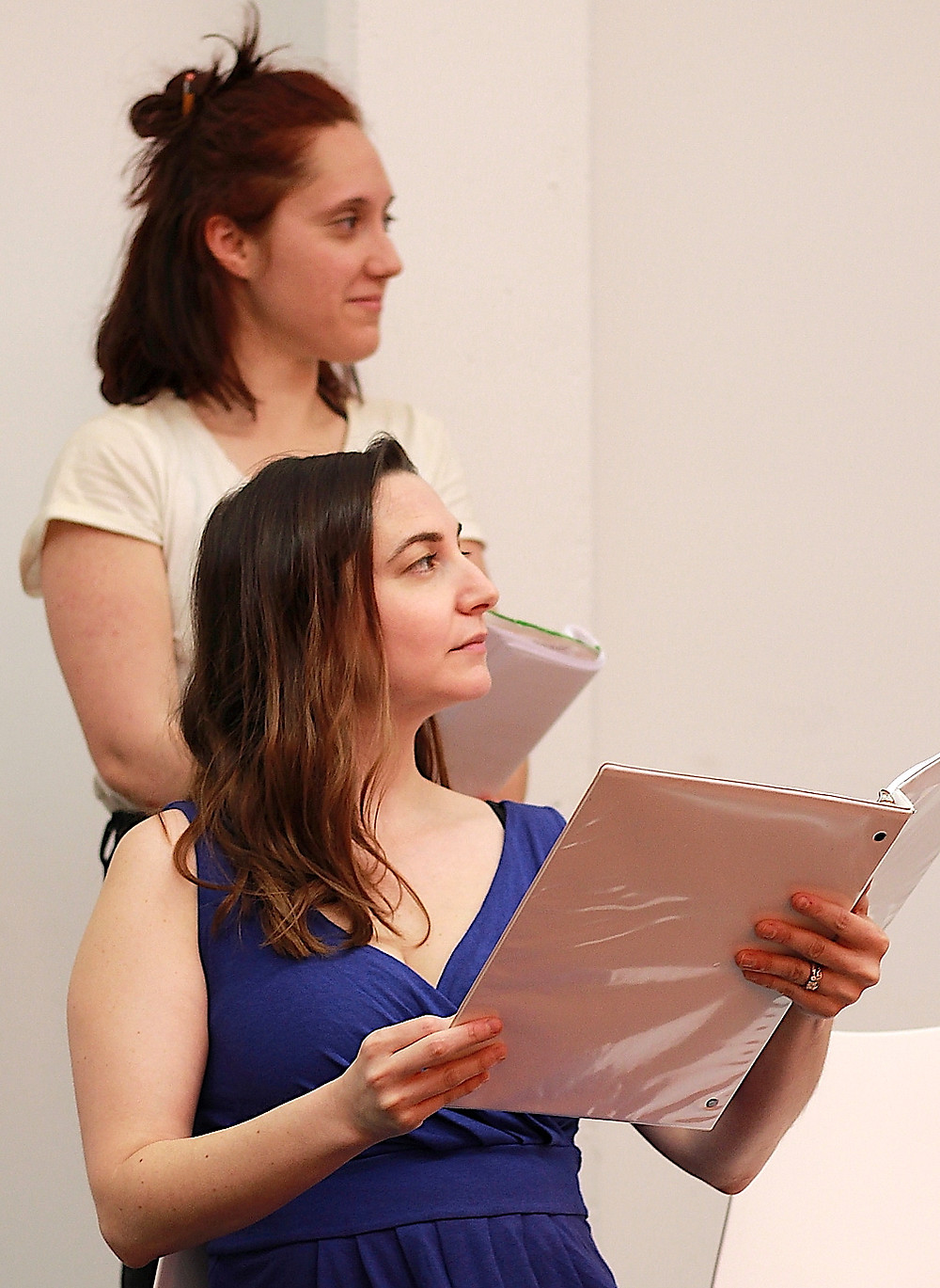 Miss Roberts) Emily H. Gilson and Dulcie (Marnie Kanarek)