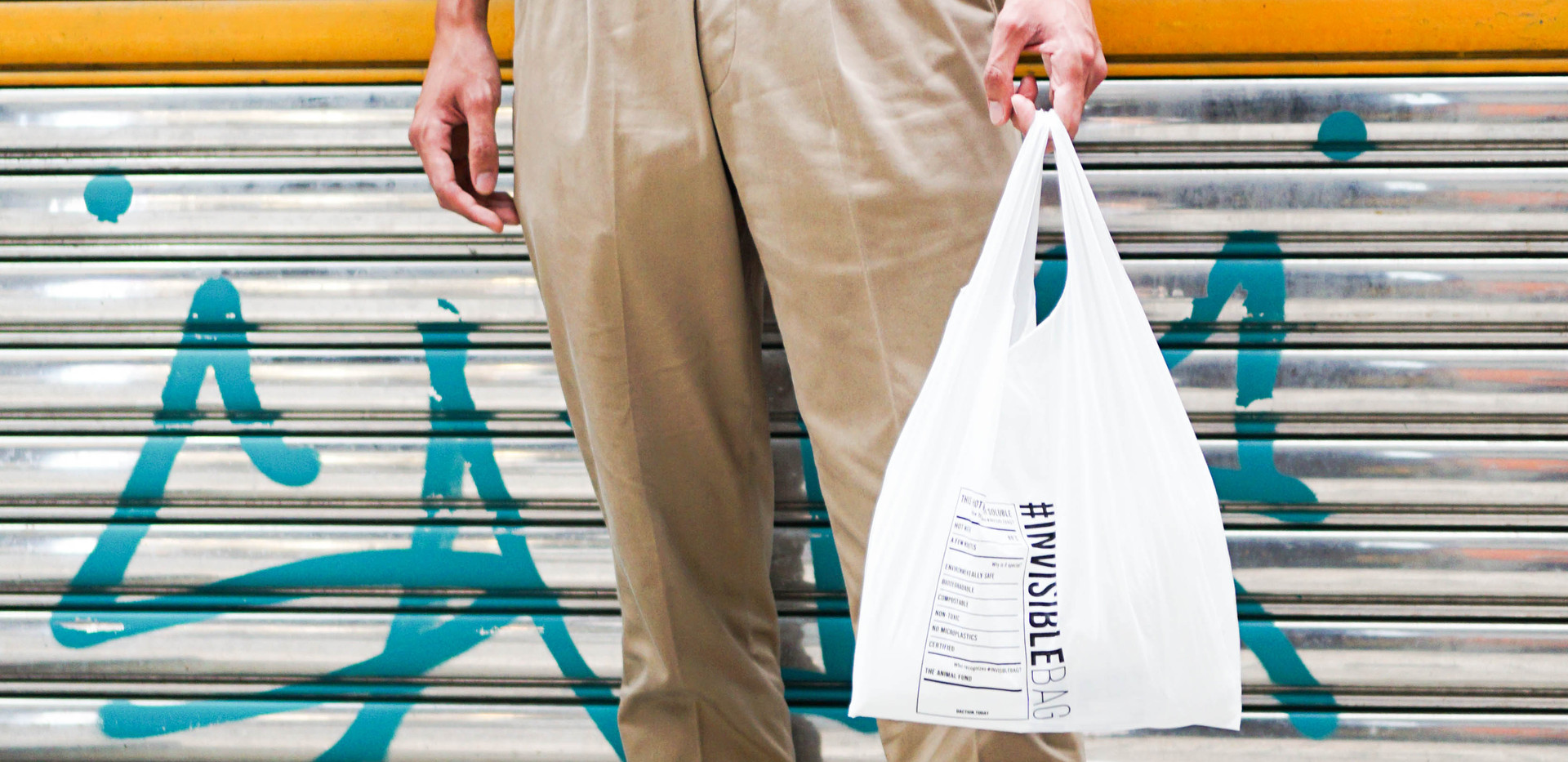 #INVISIBLEBAG   Sustainable Packaging   Distinctive Action