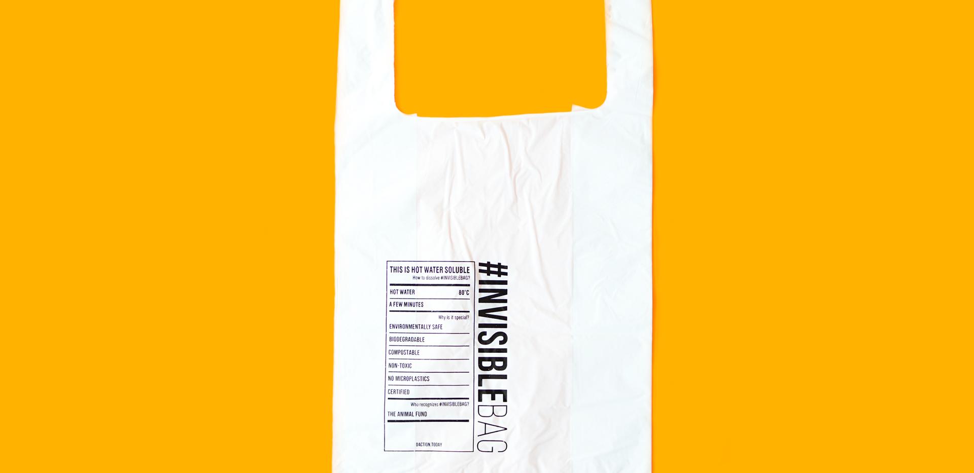 Shopping Bag   #INVISIBLEBAG   Distinctive Action