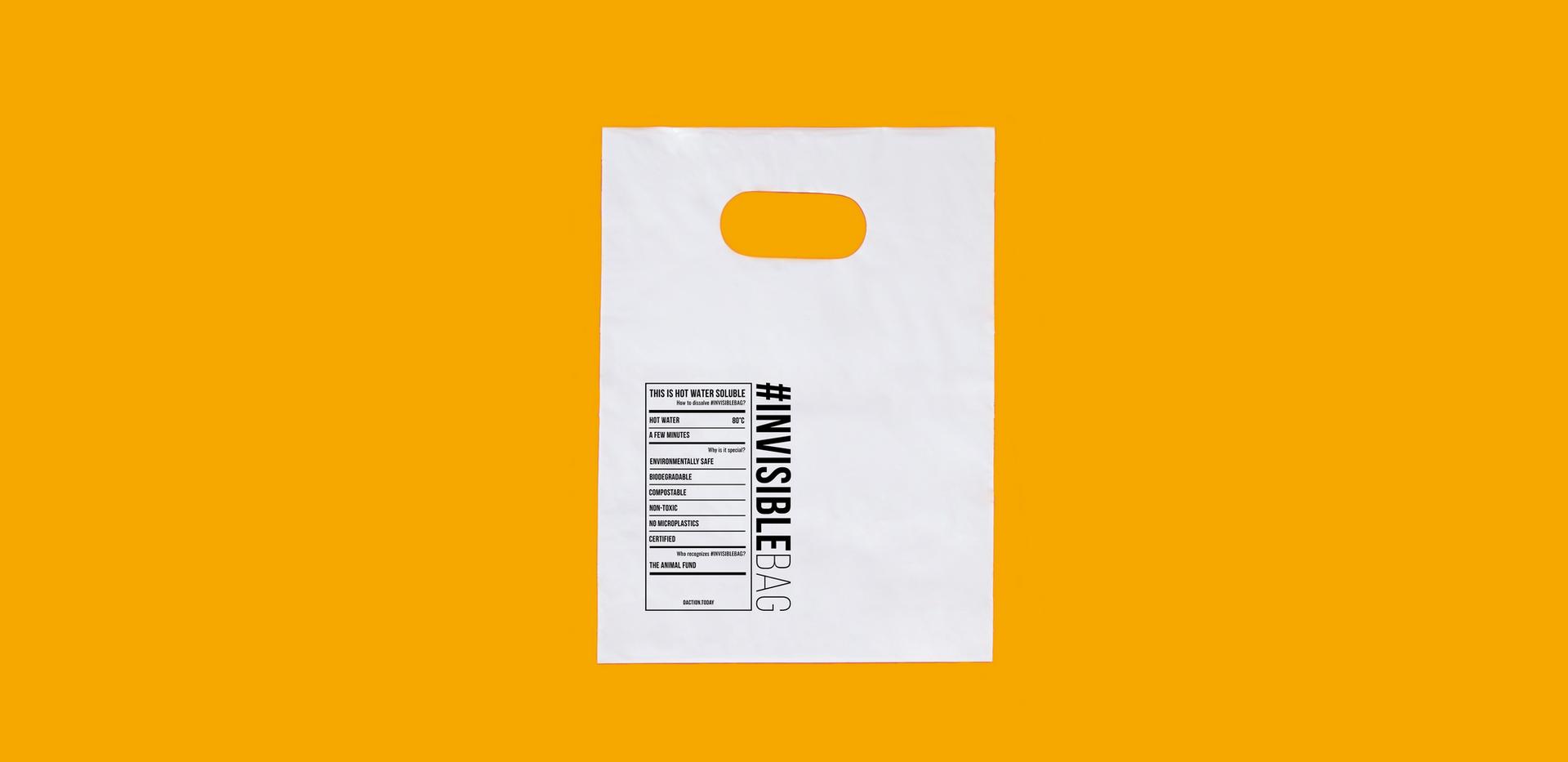 Custom Griphole Bag | #INVISIBLEBAG | Distinctive Action