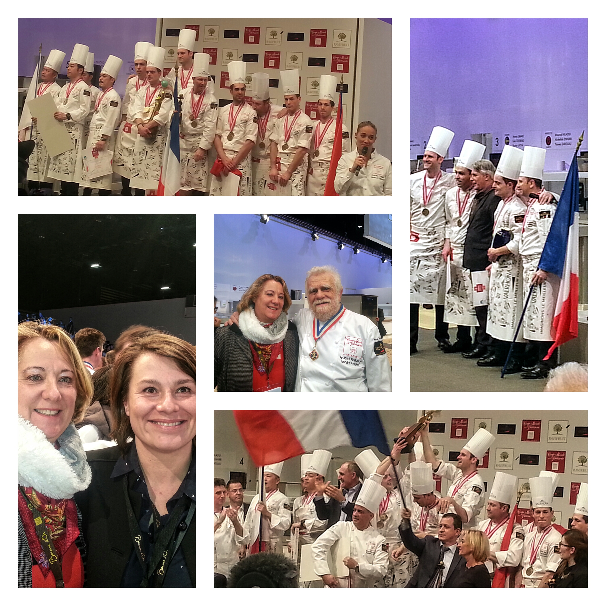 SIRHA 2017 COUPE DU MONDE PATISSERIE FRANCE OR - PLANETGOUT