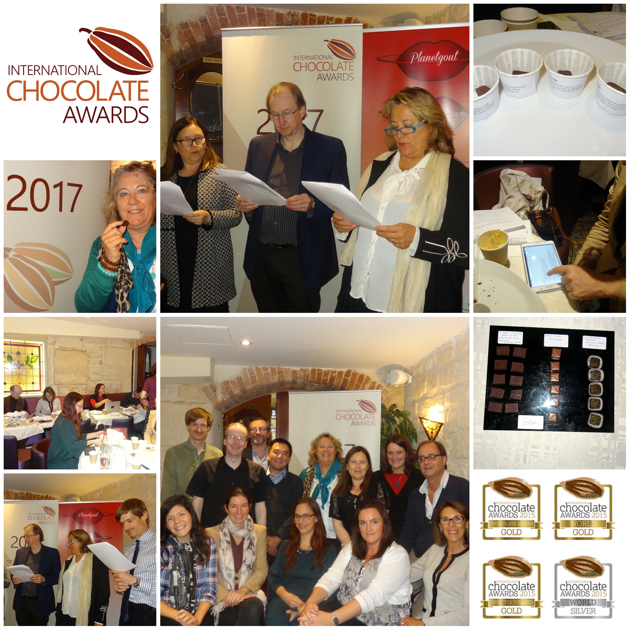PROCLAMATION Chocolatiers Gagnants French AWARDS 2017