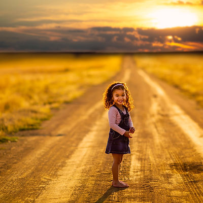 girl-standing-in-the-middle-of-the-road-