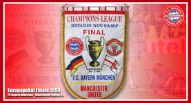 Wimpel Europapokal 1999