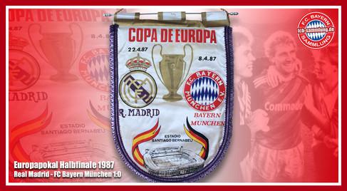Wimpel EC Halbfinale 1987
