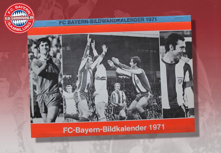 Bilderkalender 1971