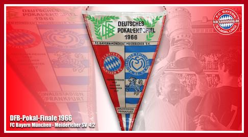 Wimpel Pokal 1966