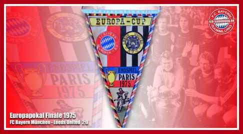 Wimpel Europapokal 1975