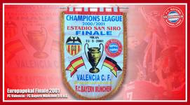 Wimpel Europapokal 2001