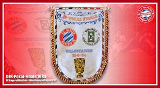 Wimpel Pokal 1984