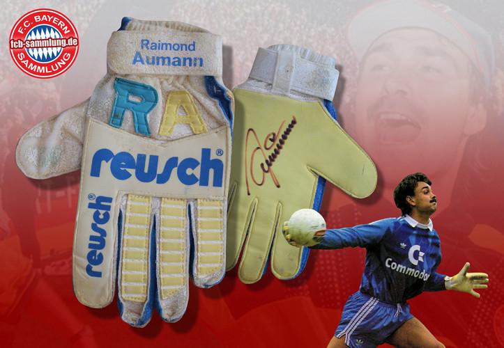 Signiertes Reusch-Sondermodell 161 von Raimond Aumann zur Saison 1986/87