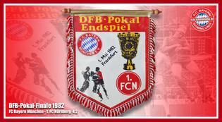 Wimpel Pokal 1982