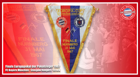 Wimpel Europapokal 1967