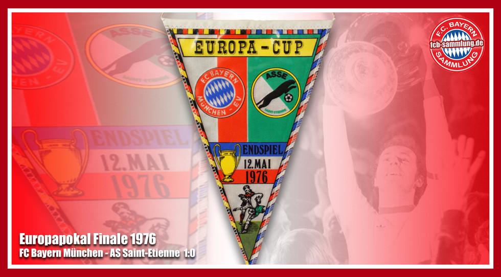 Wimpel Europapokal 1976