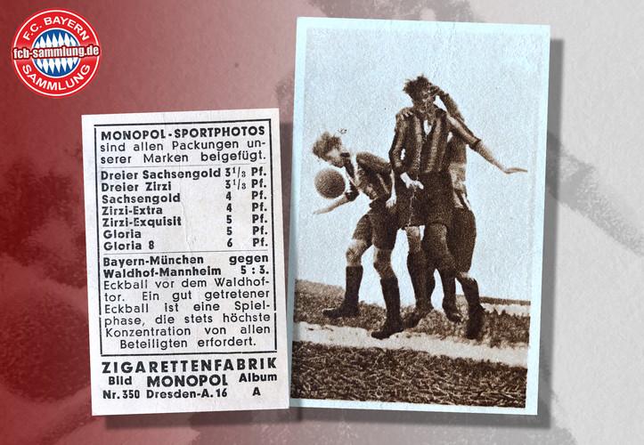 FC Bayern - Waldhof Mannheim