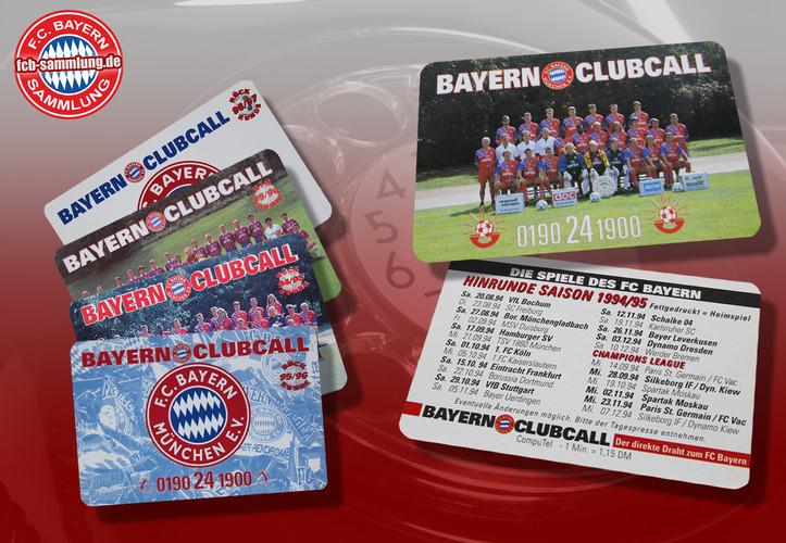 Clubcall Karten