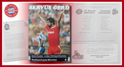 Abschiedsspiel Gerd Müller