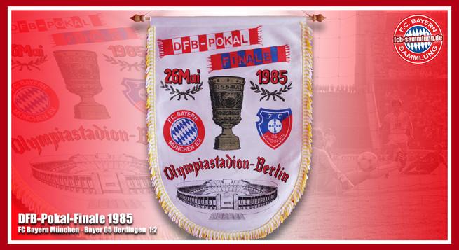 Wimpel Pokal 1985