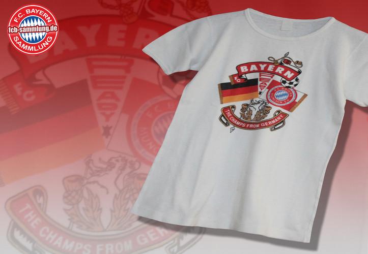 Shirt vom Fanclub Südkurve ´73 aus den 1980er Jahren