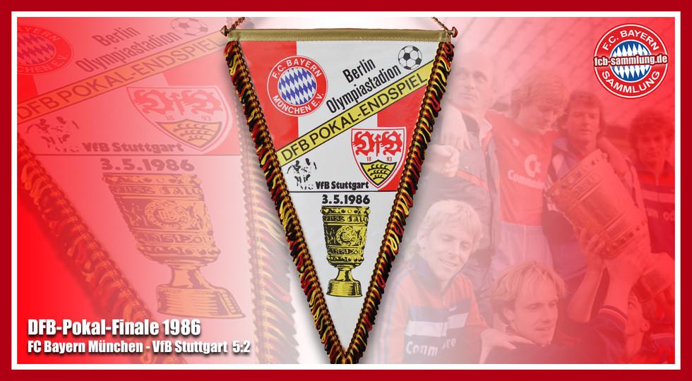 Wimpel Pokal 1986