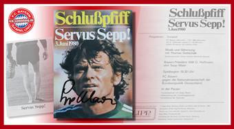 Abschiedsspiel Sepp Maier