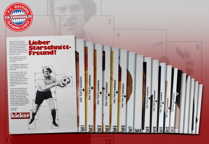 Kicker-Starschnitt von Sepp Maier