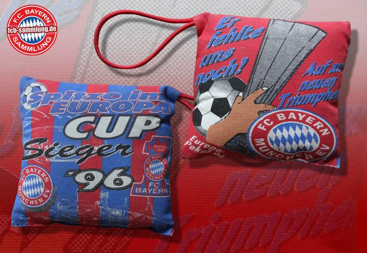 Minikissen vom Uefa-Cup Sieg 1996