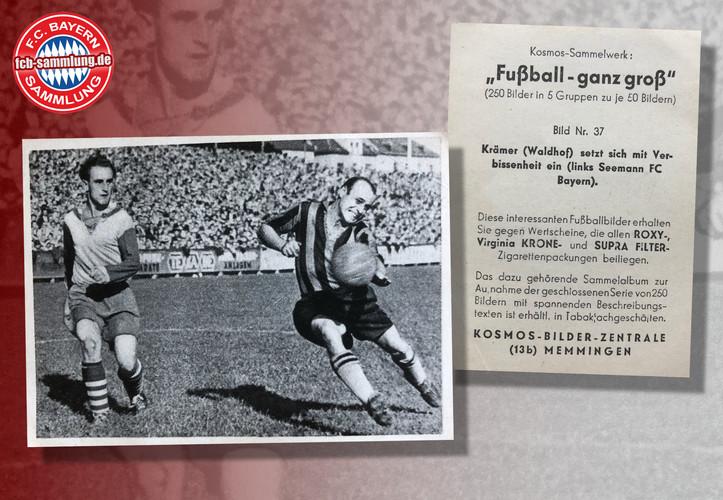 FC Bayern - Waldhof 1950/51