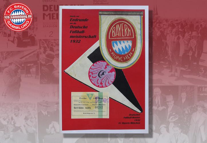 Spiele zur Endrunde um die Deutsche Meisterschaft 1932