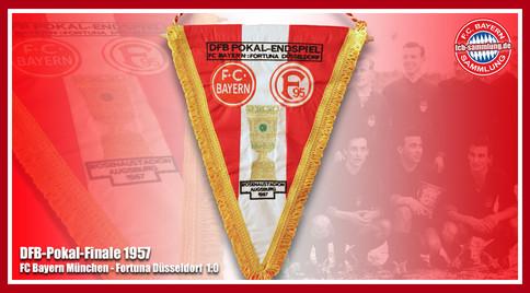 Wimpel Pokal 1957