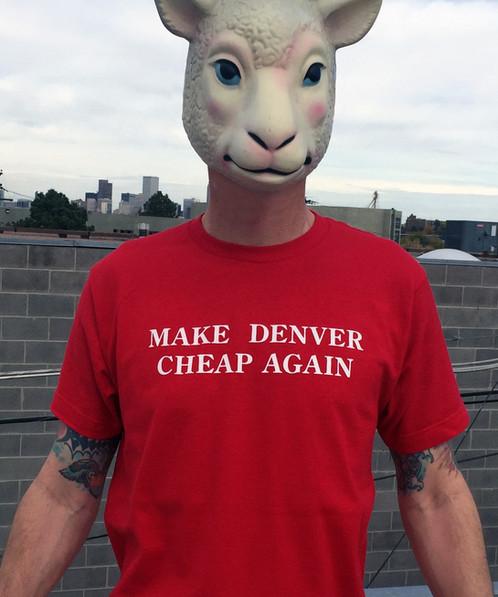 Make Denver Cheap Again | Home - Denver Colorado screen printing t ...