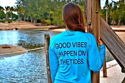 Good Vibes Happen On The Tides - LS