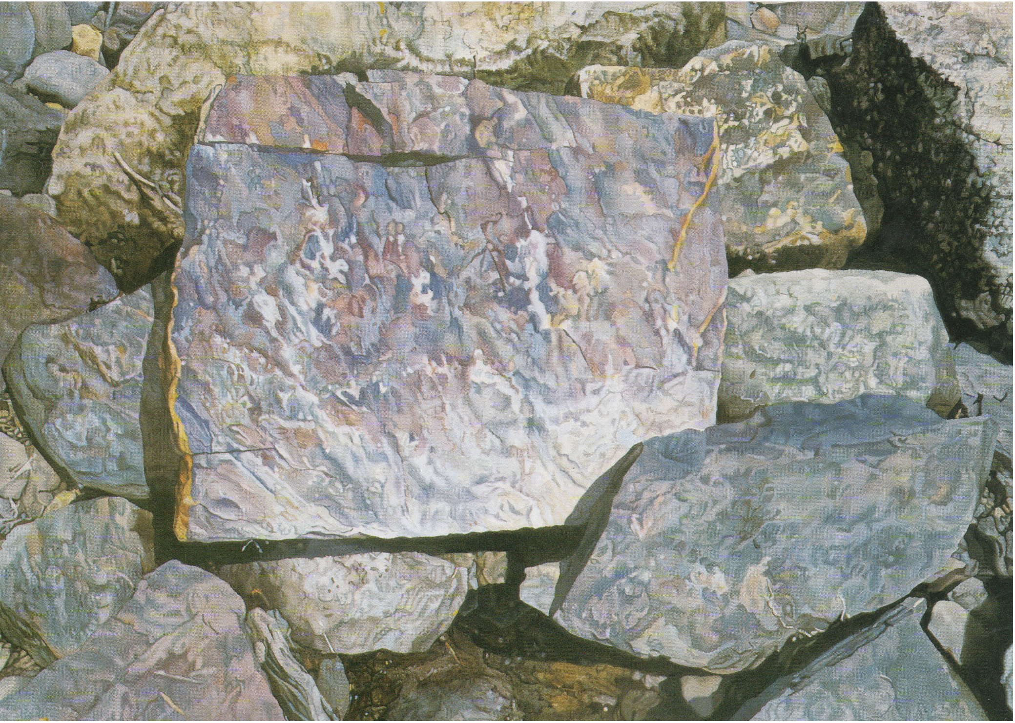 Rocks in Arey's Cove I