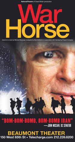 McCain War Horse