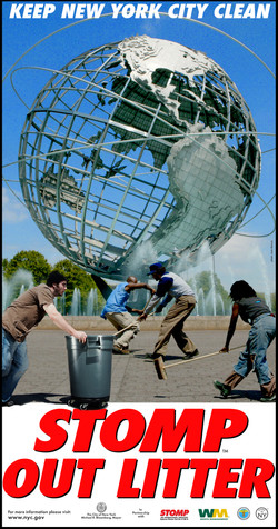 Stomp Out Litter Campaign