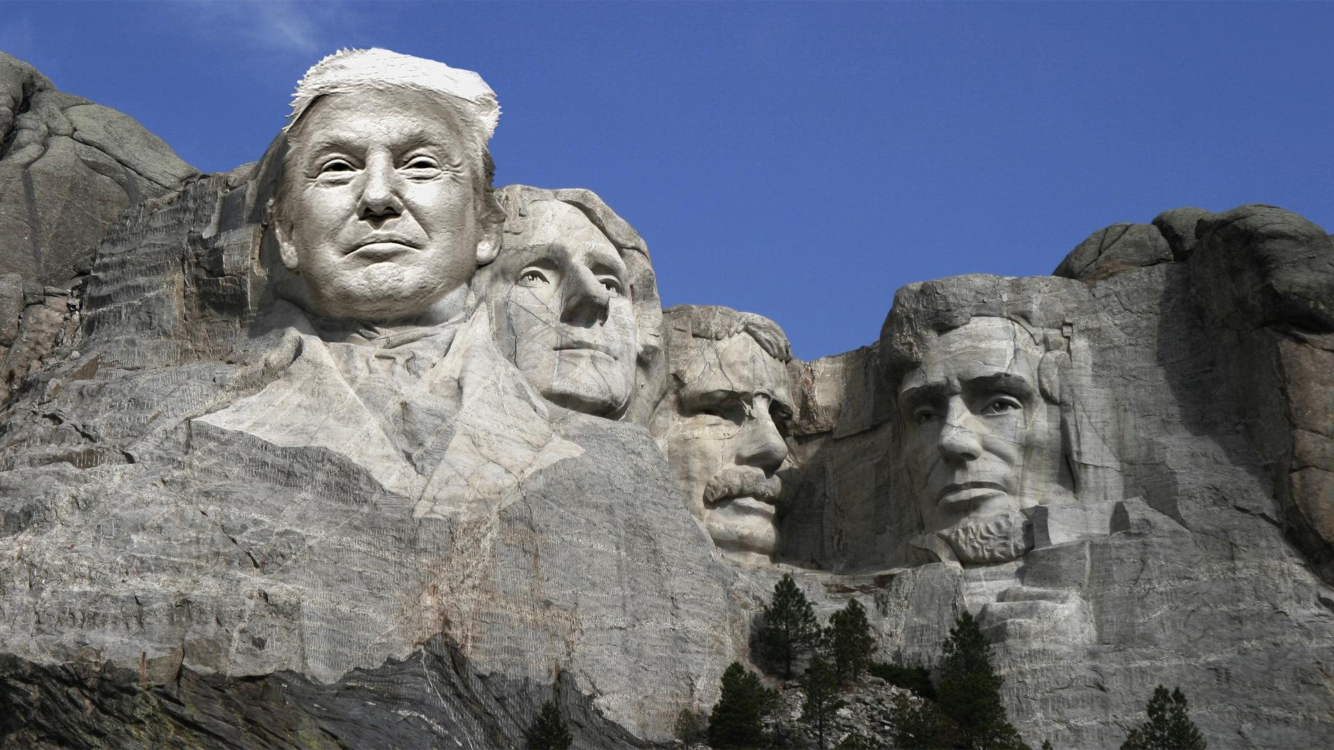 Trump Rushmore