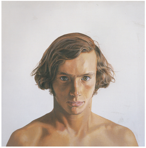 Portrait of a Young Man, Head #2