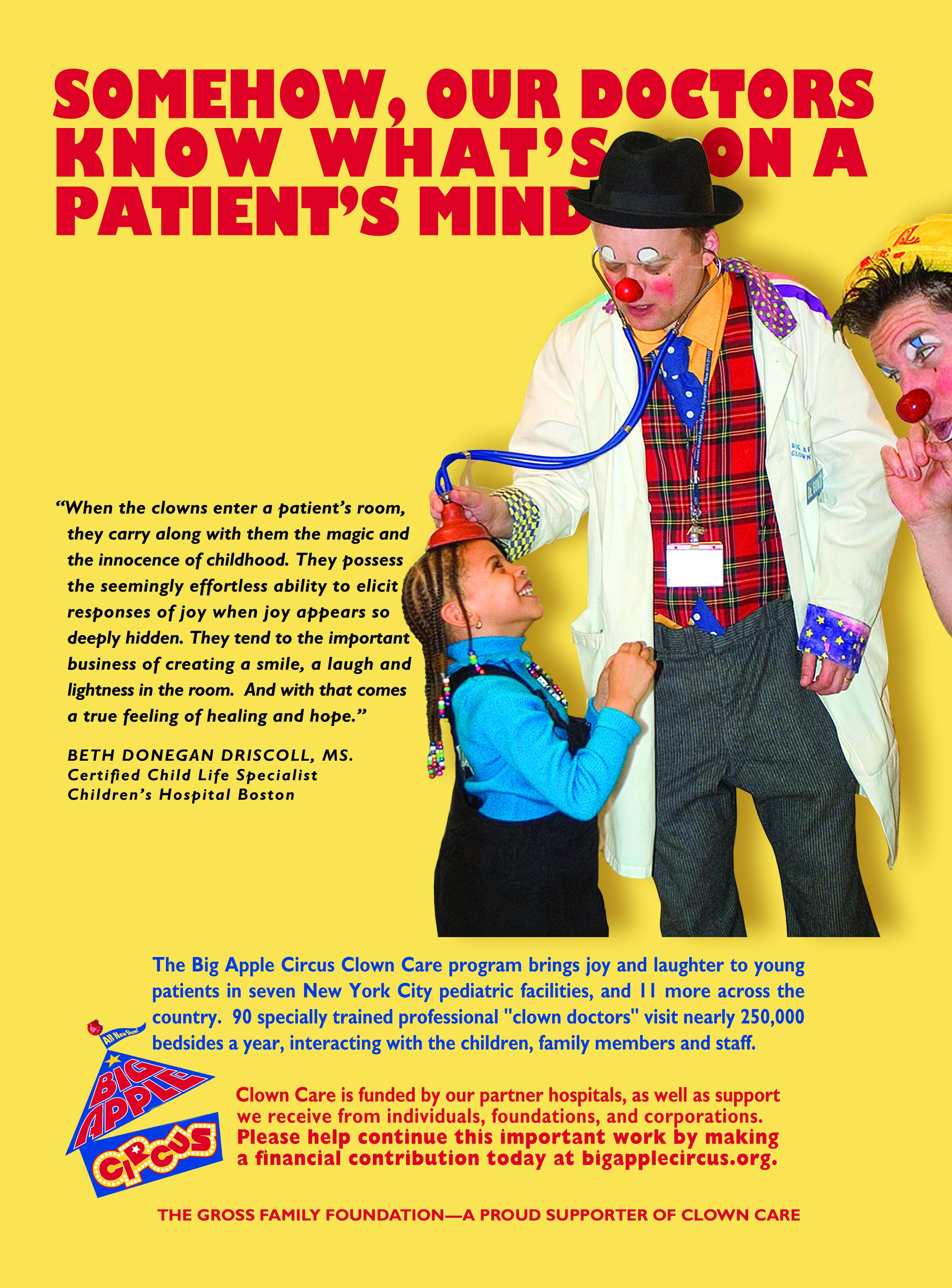 Clown Care Ad