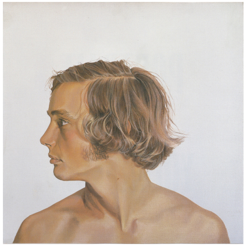 Portrait of a Young Man, Head #1